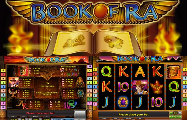 besten online casino book of ra games
